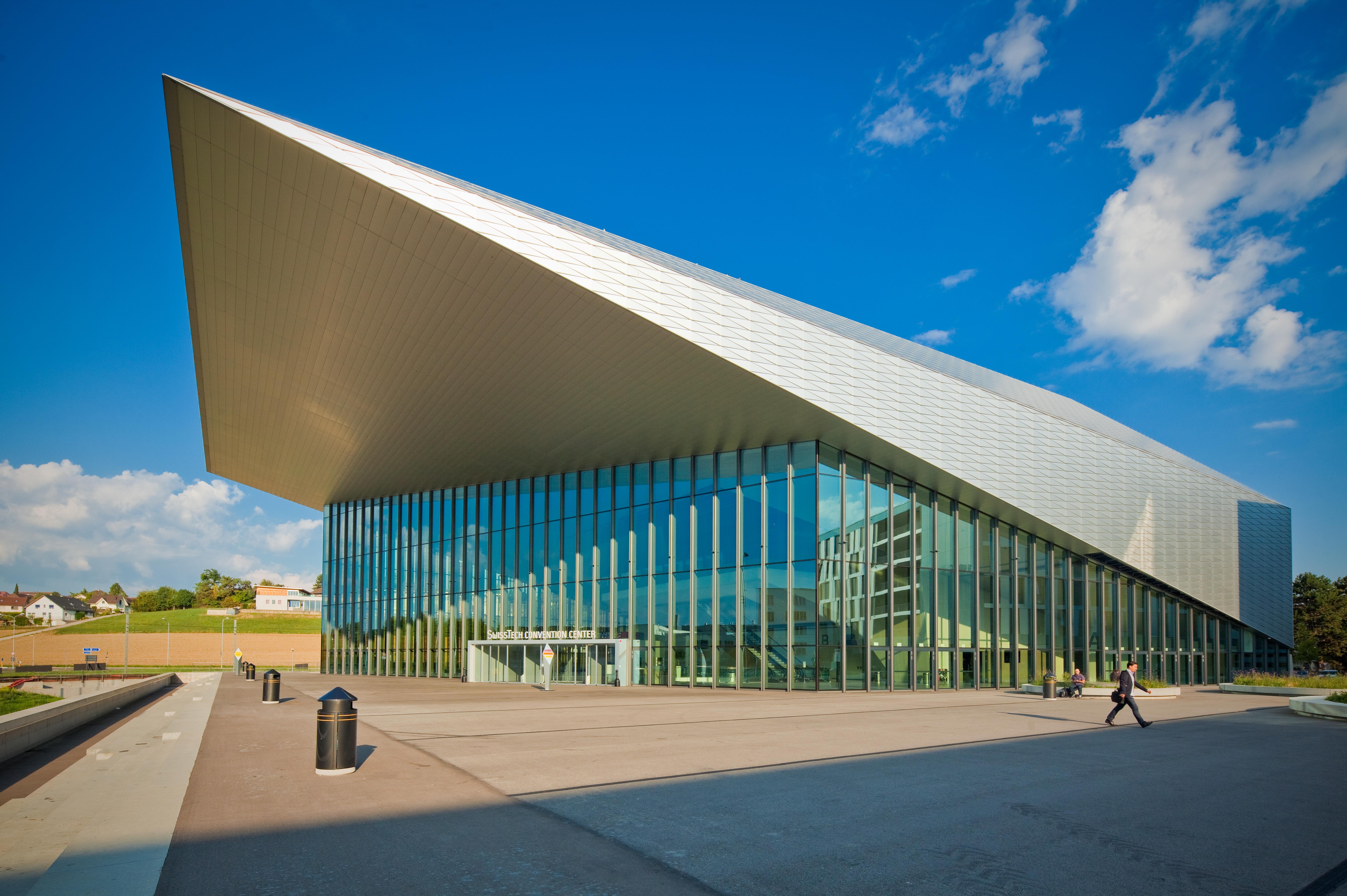 Le SwissTech Convention Center, EPFL, Lausanne